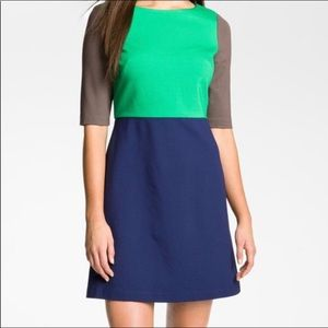 Suzi Chin for Maggy Boutique Short Sleeve Dress